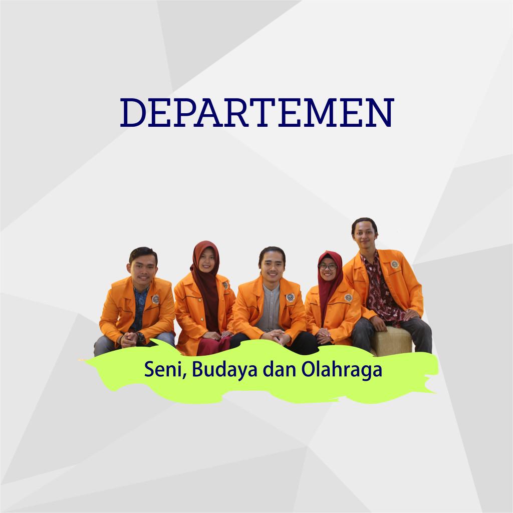 Departemen Seni Budaya dan OlahragaDepartemen Seni Budaya dan Olahraga