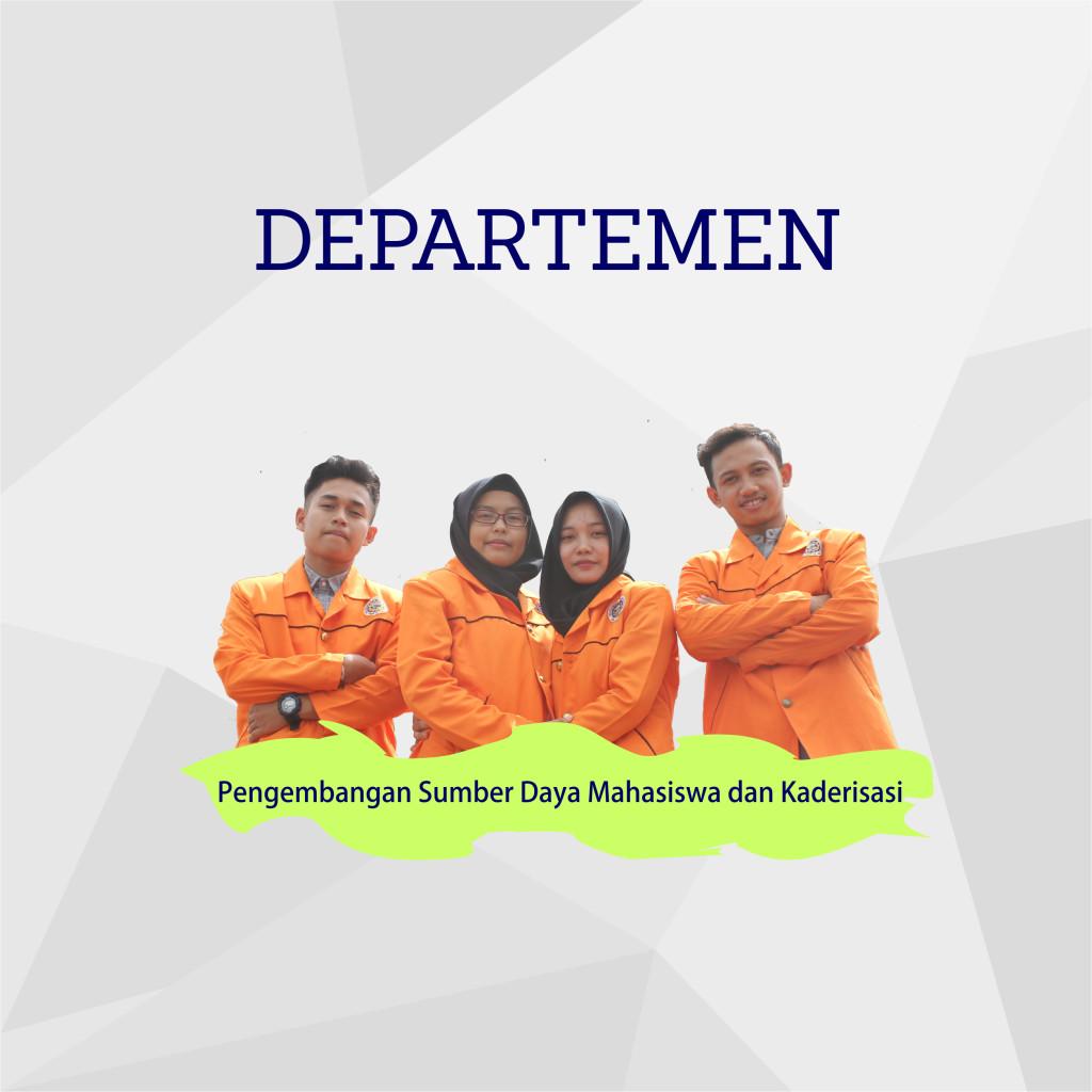 Departemen Pengembangan Sumber Daya Mahasiswa dan Kaderisasi