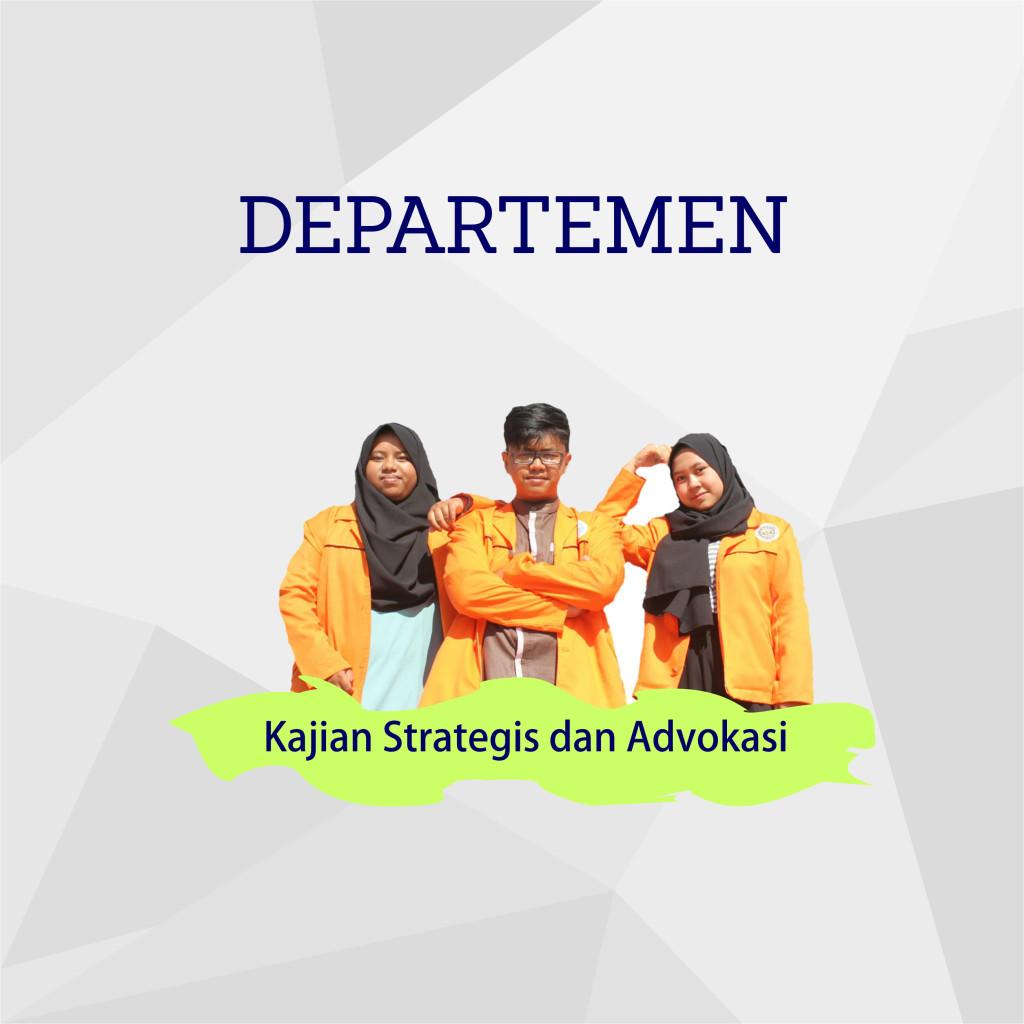Departemen Kajian Strategis dan Advokasi
